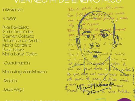 Cártama (Málaga): Homenaje poético-musical a Miguel Hernández