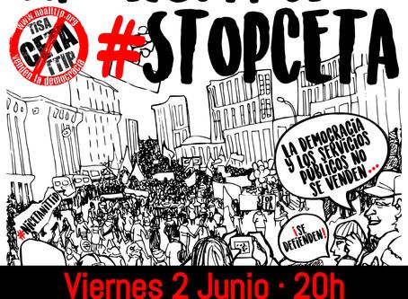 Acto público + manifestación #StopCETA
