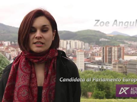 Vídeo: Alternativa Republicana Eukal Herria. Zoe Angulo (número 2)