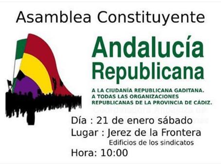 Constituida la plataforma Cádiz por la República