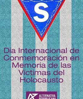 27 de enero. Dia Internacional de Conmemoración en memoria de las víctimas del Holocausto.