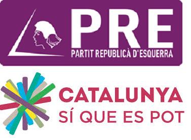 El Partit Republicà d'Esquerra-Alternativa Republicana apoya a Catalunya Sí que es Pot