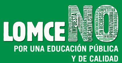 Comunicado de Mareas por la Educación Pública contra las reválidas de la LOMCE y los recortes en Edu