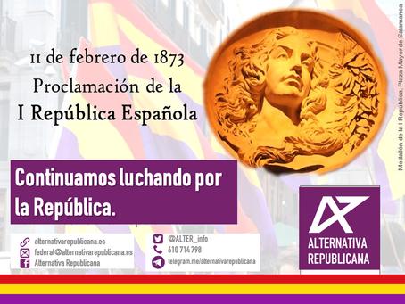 Aniversario de la Proclamación de la I República