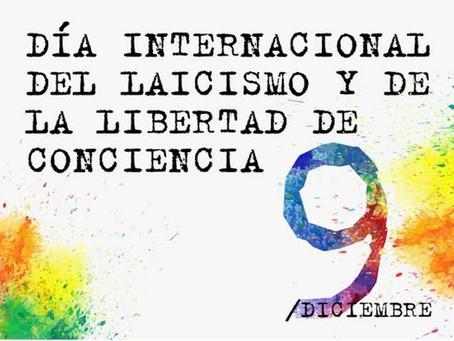 Manifiesto de Europa Laica con motivo del Día Internacional del Laicismo y la Libertad de Conciencia