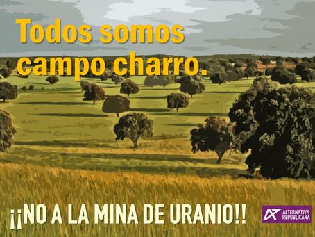 Alternativa Republicana se suma a la Manifestación contra la mina de uranio en Salamanca