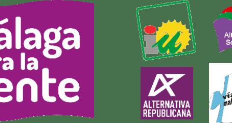 Manifiesto de apoyo de Málaga para la gente