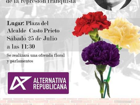 Salamanca: Homenaje al Alcalde Casto Prieto y a las víctimas del represión franquista