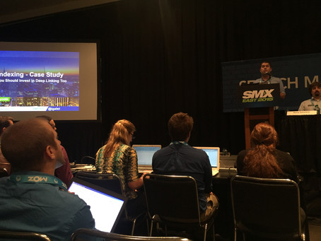 My Talk at SMX East last week