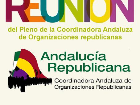 Humilladero (Málaga). Convocatoria del pleno de Andalucía Republicana