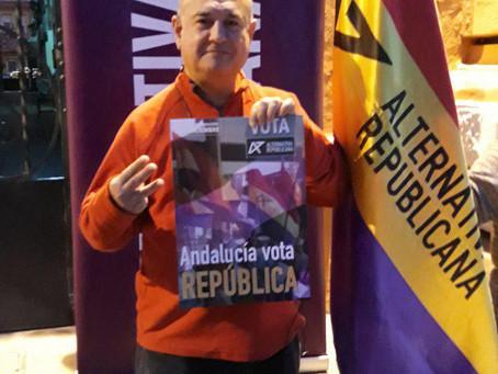 Entrevista a Antonio Fernández, candidato de ALTER a la presidencia de la Junta de Andalucía en La H