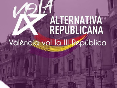 Valencia: Candidatura municipal de Alternativa Republicana.