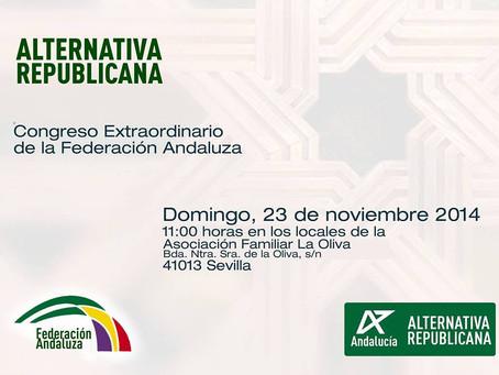 Congreso Extraordinario de la Federación Andaluza de ALTER.