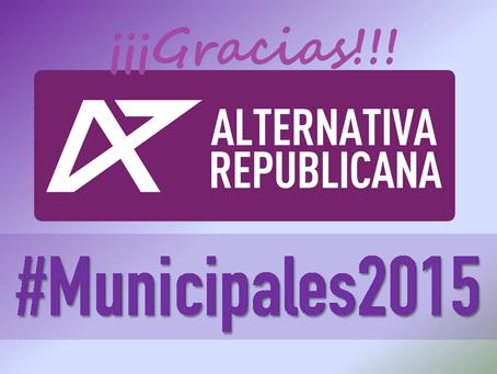#24M: Alternativa Republicana, partícipe del cambio que llega