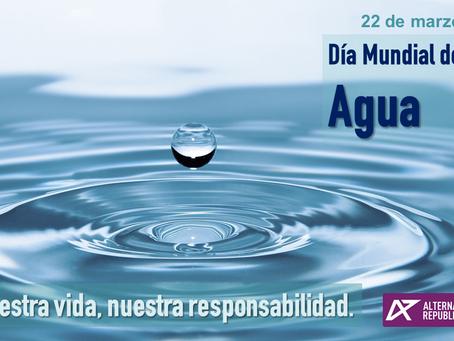 22 de marzo: Alternativa Republicana se suma al Día Mundial del Agua.