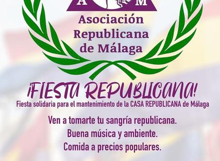 Fiesta Republicana en Málaga.