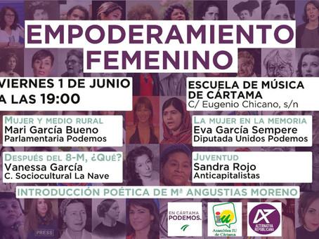 Cártama (Málaga). Acto «Empoderamiento femenino»