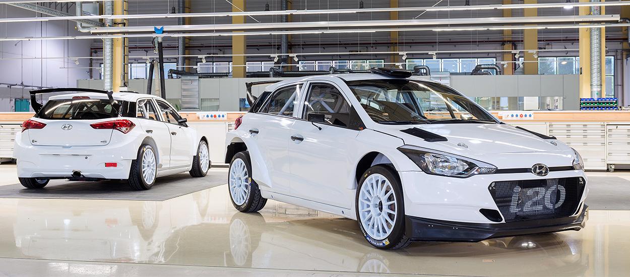 Hired by Hyundai Motorsport