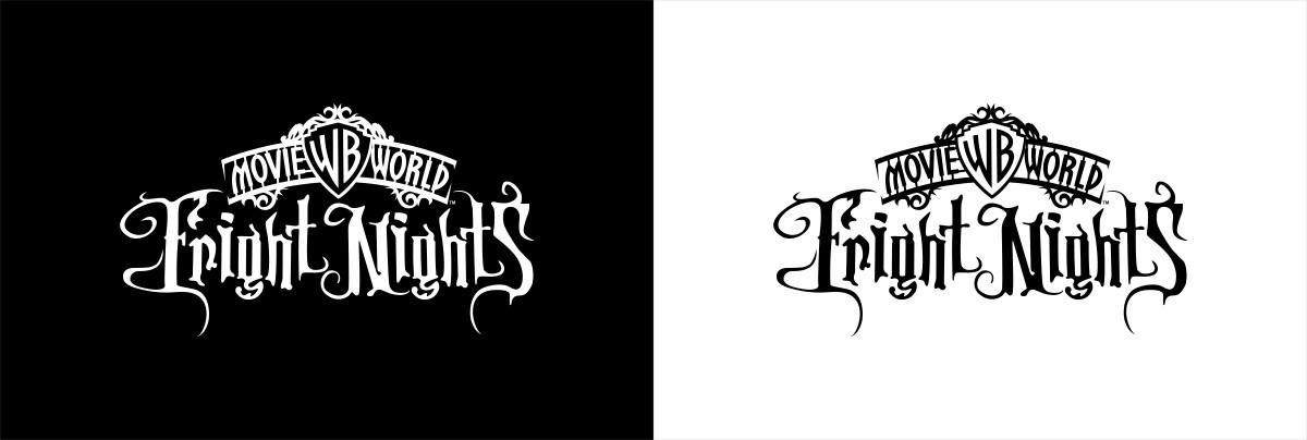 Fright Nights Mono Logo