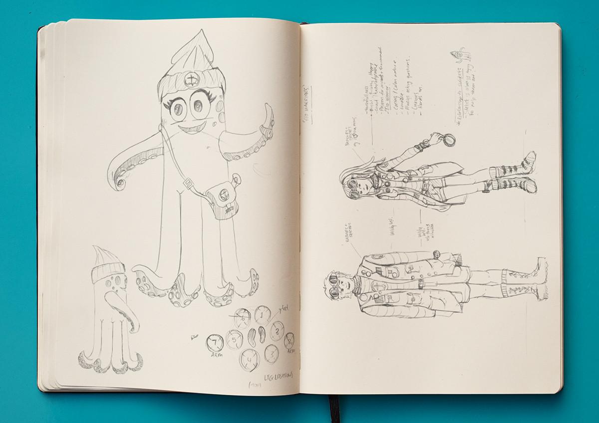 Character costume design
