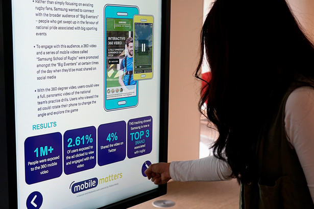 Interactive Digital Screens