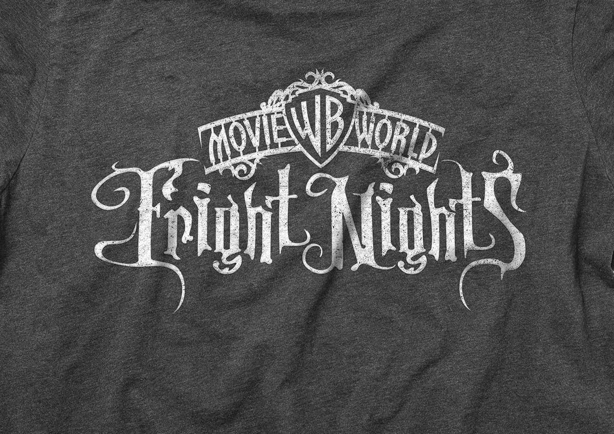 Logo on t-shirt