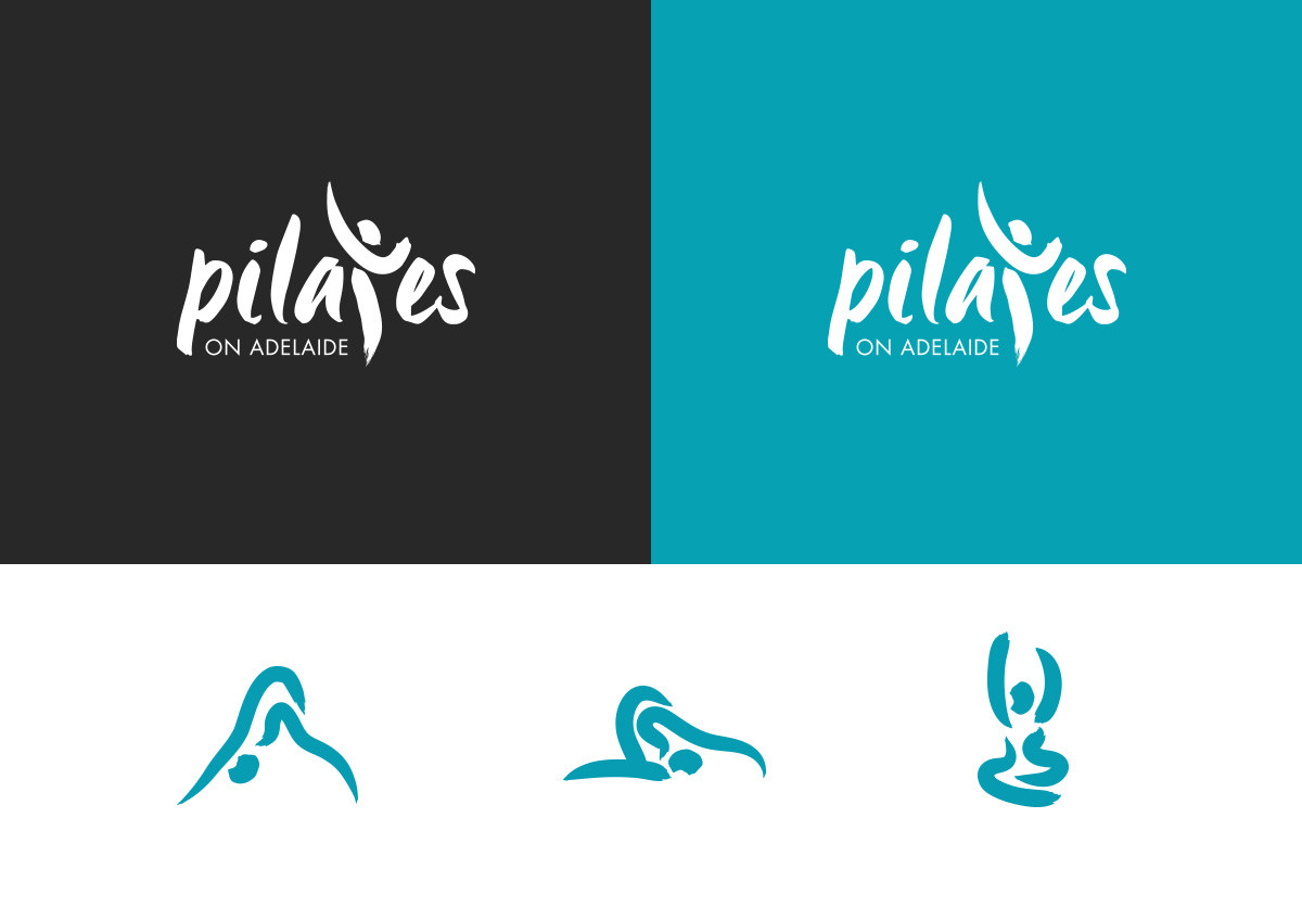 Pilates on Adelaide Branding