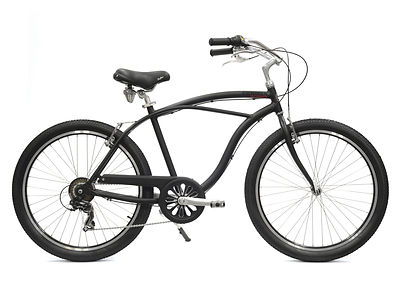 Beach cruiser Arcade noir commercialisé par Barbier SL Cycles à Chartres