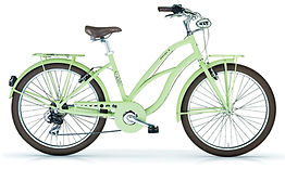 Beach cruiser Maui vert commercialisé par Barbier SL Cycles Chartres