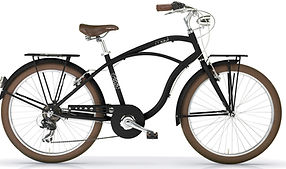 Beach cruiser Maui noir commercialisé par Barbier SL Cycles Chartres