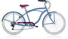 Beach cruiser honolulu bleu commercialisé par Barbier SL Cycles Chartres