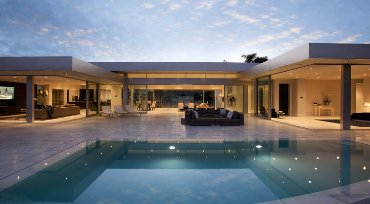 #131 Architectural 6BR Masterpiece in Hollywood