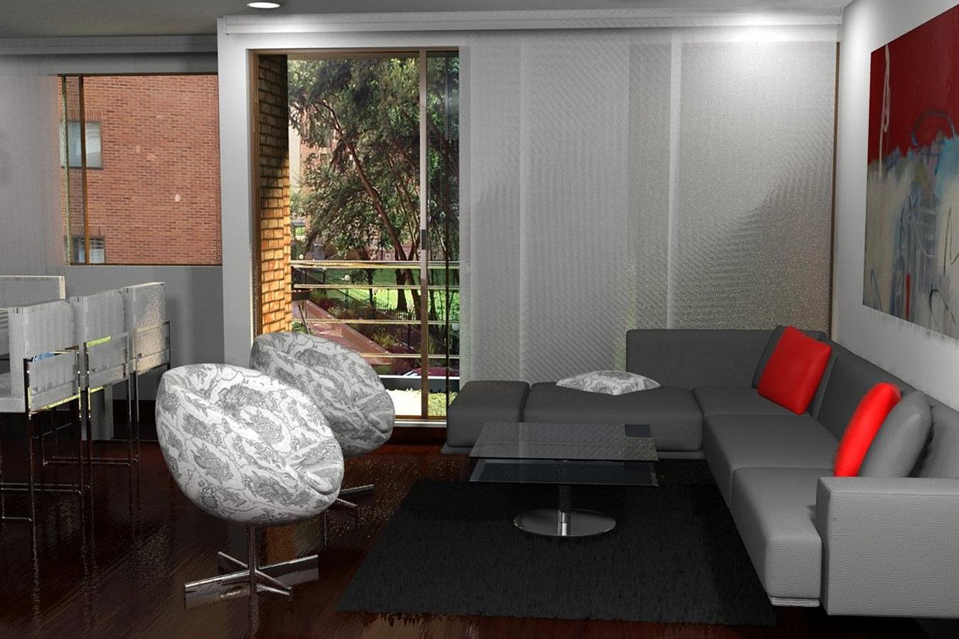 Dise o decoradores de interiores interior design for Diseno oficinas modernas bogota