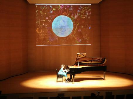 ピアノ発表会の写真