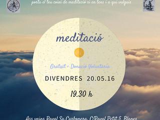 Meditació - Maig 2016 - Associació veïns Raval Sa Carbonera