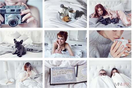 Bed head with George Northwood for MINMAX Beauty