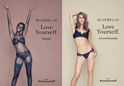 """Bluebella for Victoria's Secret, """"Love Yourself"""" Campaign"""