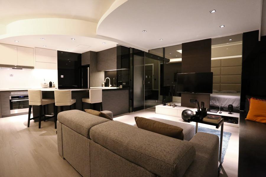 0140-bar table-living-home idea-breeze design studio 柔室內設計裝修.JPG