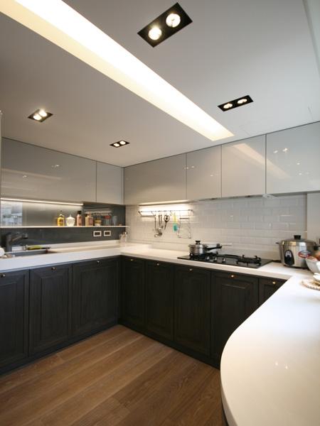 0820-modern french house-open kitchen-home idea-breeze design studio 柔室內設計裝修.JPG