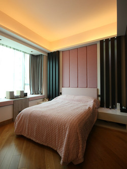 0440-bed panel light-bedroom-home idea-breeze design studio 柔室內設計裝修.JPG