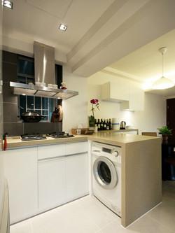 0540-elegant white-open kitchen-home idea-breeze design studio 柔室內設計裝修.JPG