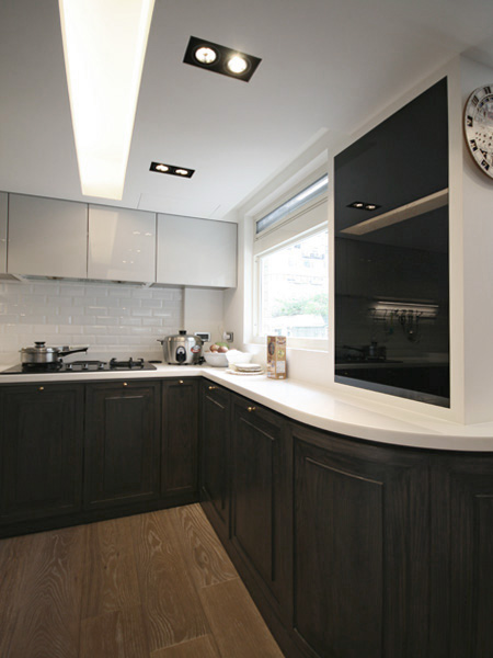0810-modern french house-open kitchen-home idea-breeze design studio 柔室內設計裝修.JPG