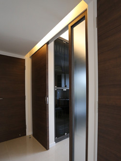 0900-glass slide door-studyroom-home idea-breeze design studio 柔室內設計裝修.JPG