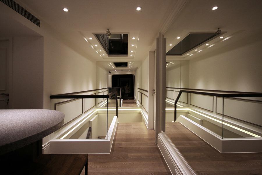 0840-modern french house-stair-home idea-breeze design studio 柔室內設計裝修.JPG