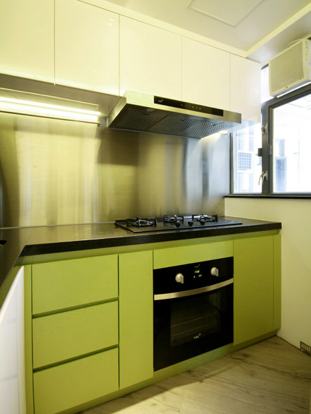 0040-modern green-open kitchen-home idea-breeze design studio 柔室內設計裝修.JPG