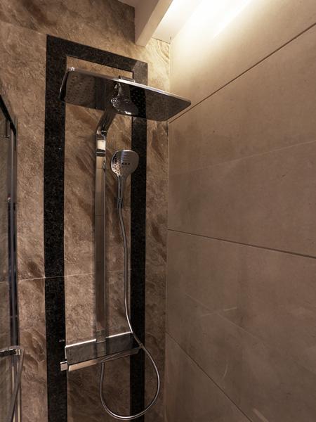 0770-grand marble feature wall shower-bathroom-home idea-breeze design studio 柔室