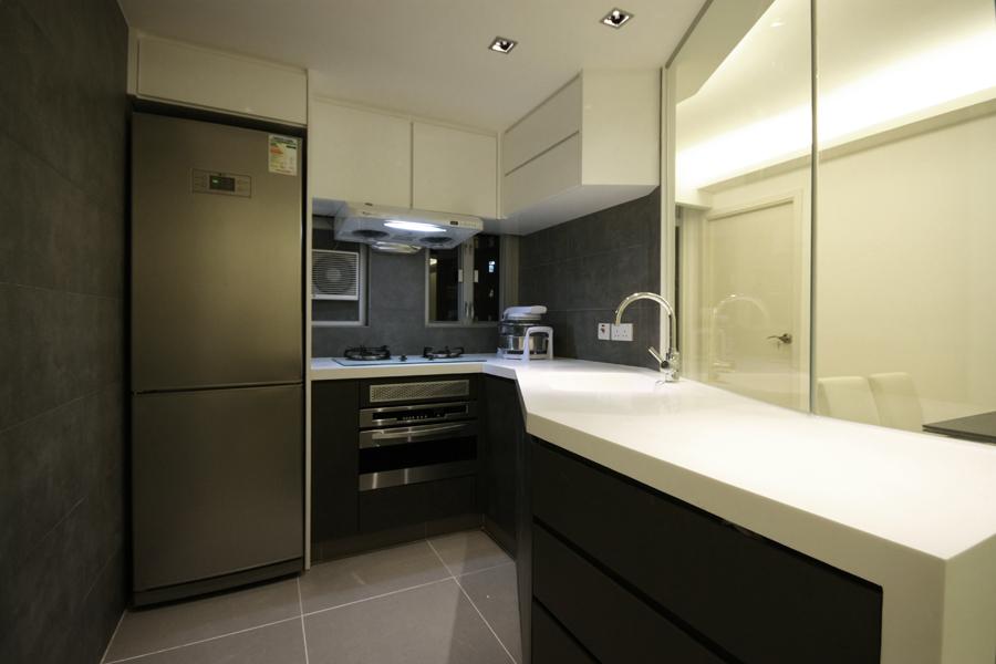 0950-modern glass-open kitchen-home idea-breeze design studio 柔室內設計裝修.JPG