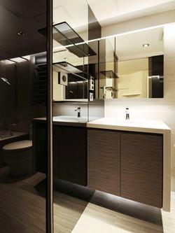 1340-full mirror-bathroom-home idea-breeze design studio 柔室內設計裝修.JPG