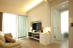 1211-modern white mirror-living-home idea-breeze design studio 柔室內設計裝修.JPG