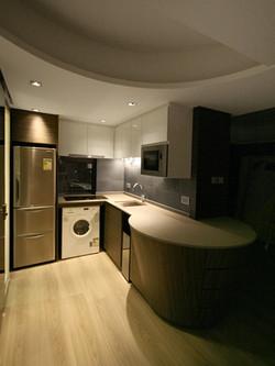 0640-curved bar table-open kitchen-home idea-breeze design studio 柔室內設計裝修.JPG